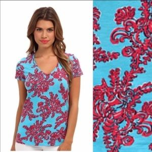 Lilly Pulitzer Rhode Island reef starfish coral m